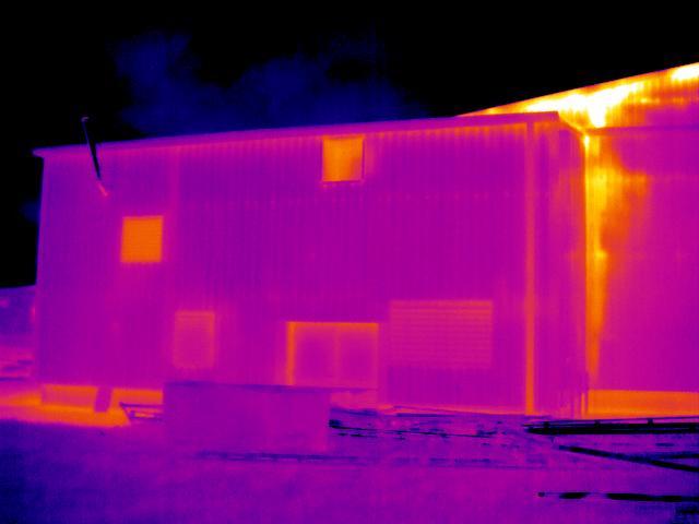 Air leakage Thermal Imaging