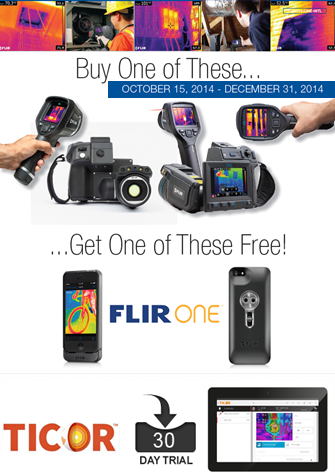 Free Flir One And Thermal Imaging Reporting Software.