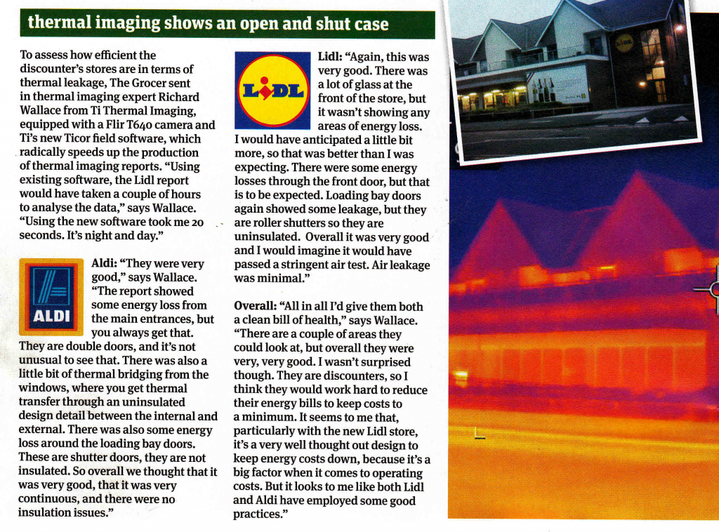 The Grocer Magazine Thermal Imaging Green Issue