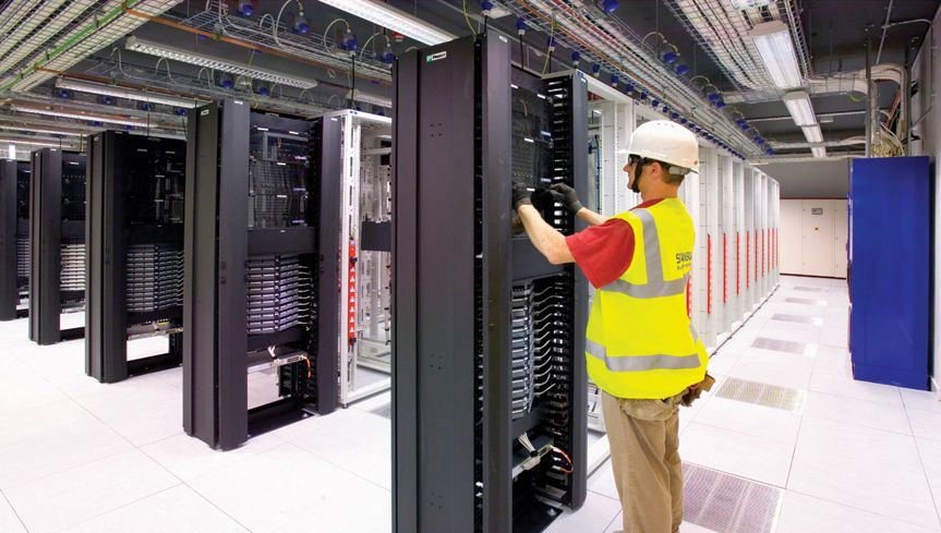 Thermal Imaging For A Data Centre 1
