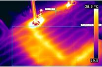 Water Leak Thermal Imaging Detection 1
