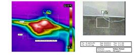 water Leak thermal imaging detection 2014