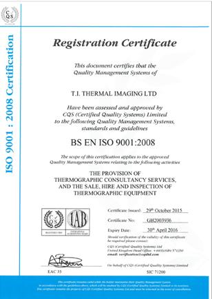 Training Accreditations ISO 9001 2008